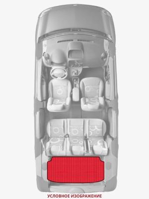 ЭВА коврики «Queen Lux» багажник для Лада 2110