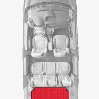 ЭВА коврики «Queen Lux» багажник